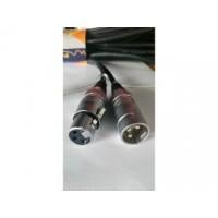 SoundKing FCMCML3 XLR M To XLR F Signal Lead (3m)